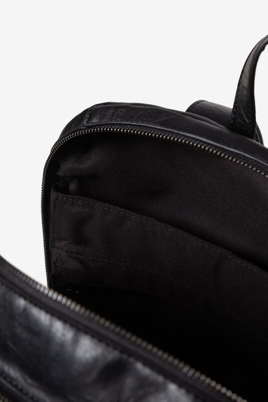 Synthetic leather embossed backpack   Desigual