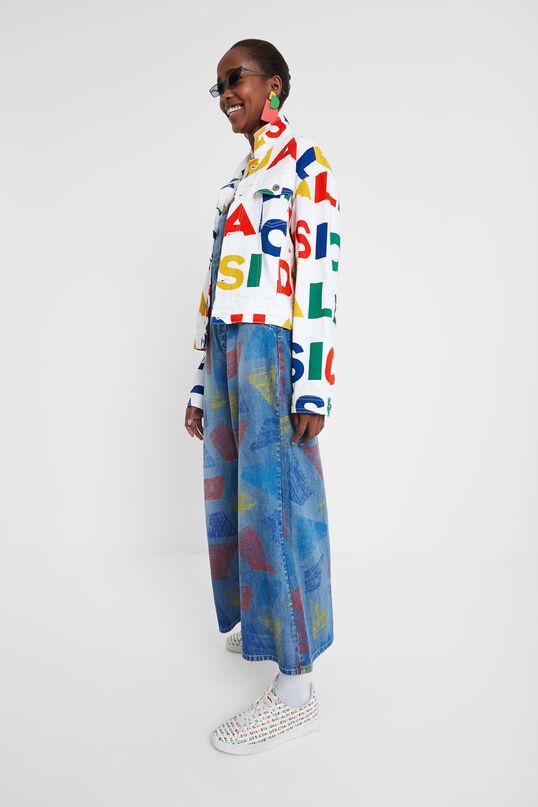 Colourful Logomania Jacket Dsgl | Desigual