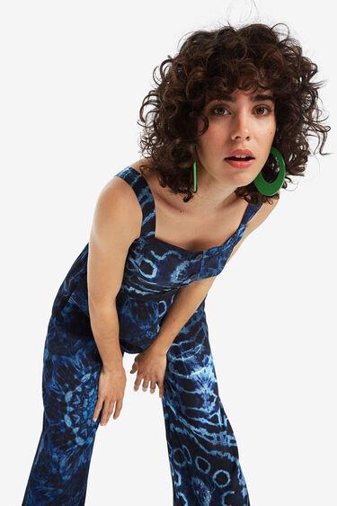Tie-dye Jumpsuit mit Trägern | Desigual