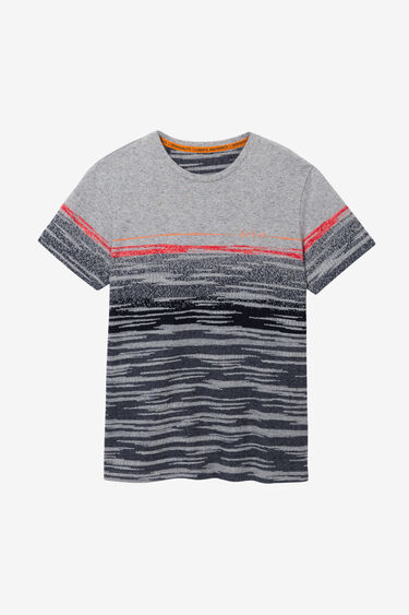 Jacquard T-shirt strips | Desigual