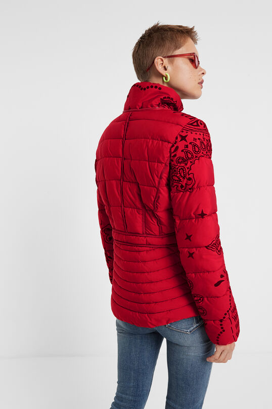 Padded turtleneck jacket   Desigual