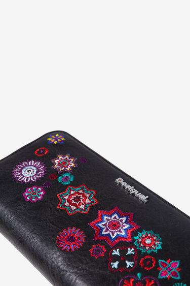 Längliches Portemonnaie mit Mandalas | Desigual