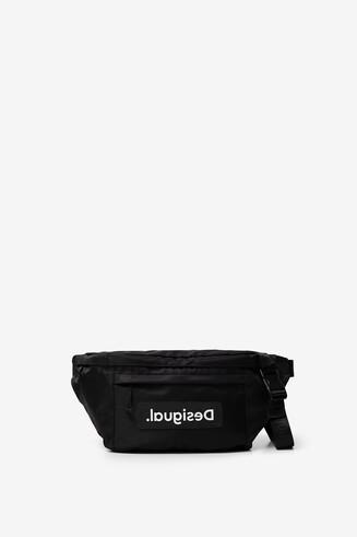 Maxi bum bag with logo