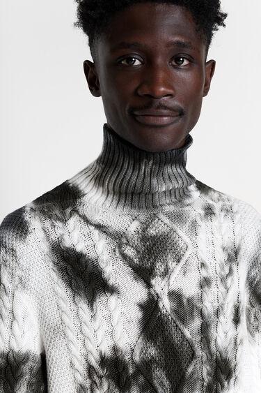 Tie-dye knit jumper | Desigual