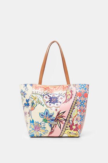 2 in 1 boho shopping bag | Desigual