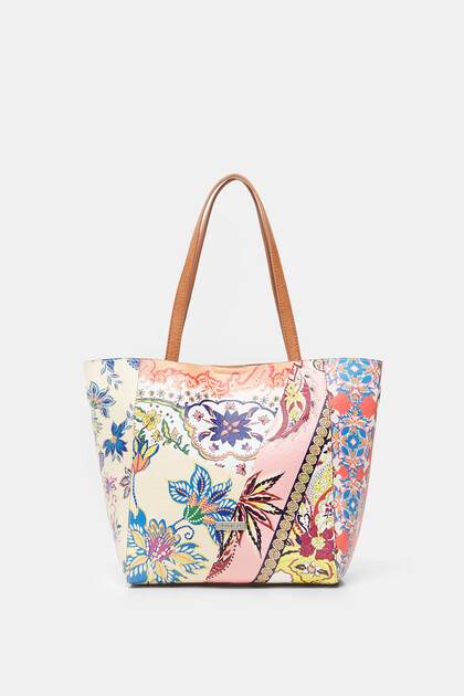 Shopping bag 2 en 1 boho