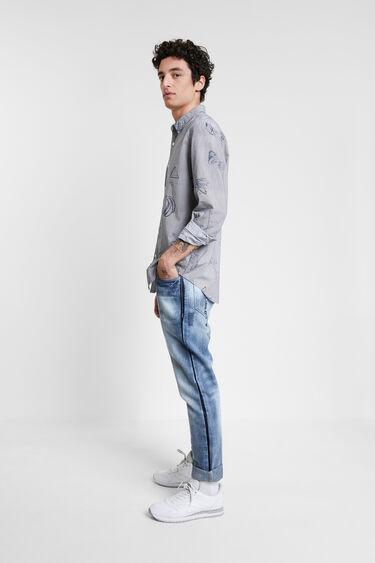 Casual shirt stripes and bolimania | Desigual