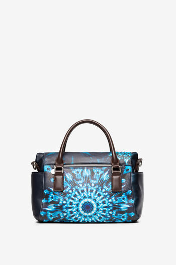 Handtas met blauwe mandala's | Desigual