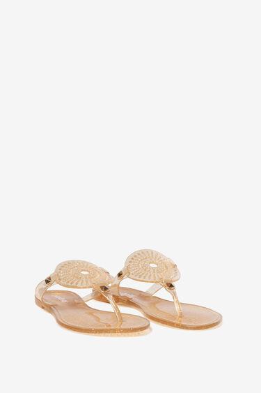 Transparent sandals | Desigual