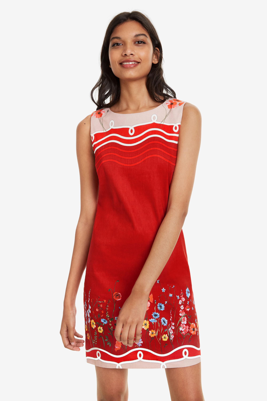 Pichi Patrice Marinero Vestido Pichi Rojo Vestido j34AR5L