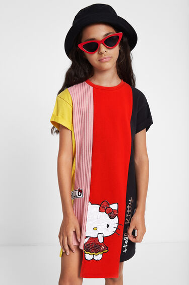 Robe asymétrique Hello Kitty | Desigual