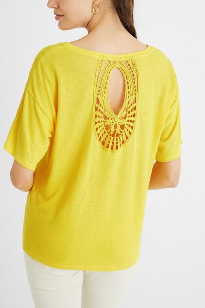 T-shirt crochet Paisley