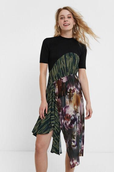 Hemdblusenkleid mit Patches | Desigual
