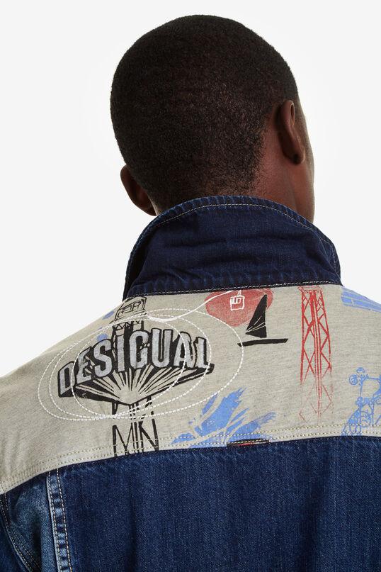 Jean jacket patches | Desigual