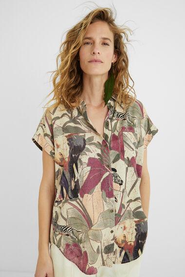 Tencel shirt safari