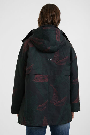 Oversize waterproof jacket | Desigual