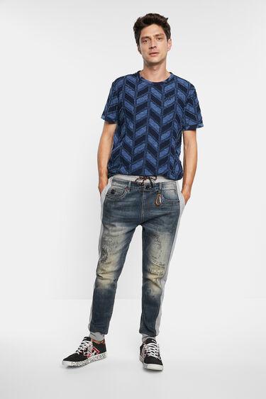 T-Shirt Jacquard Zapfen | Desigual