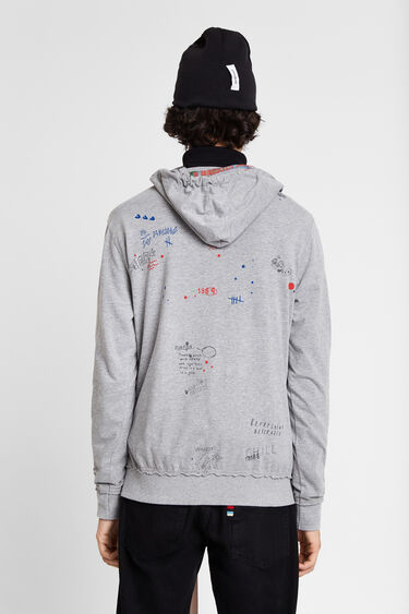 Arty sweatshirt hood | Desigual