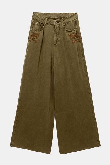 Pantalon palazzo ethnique | Desigual