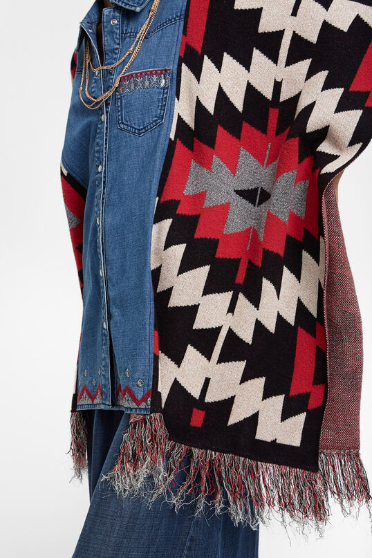 Exotic denim poncho | Desigual