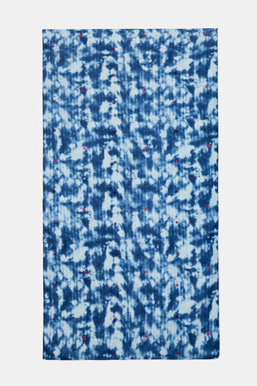 Pareo foulard tie-dye | Desigual