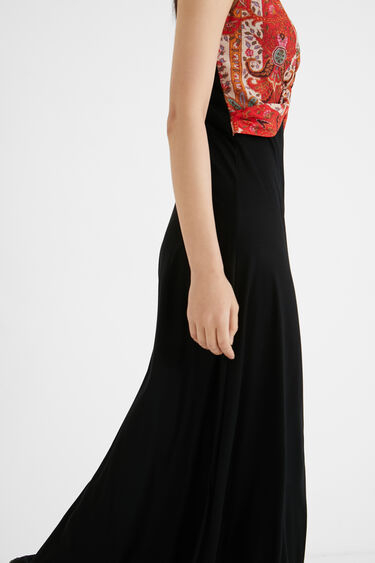Langes Kleid Ethno-Style | Desigual