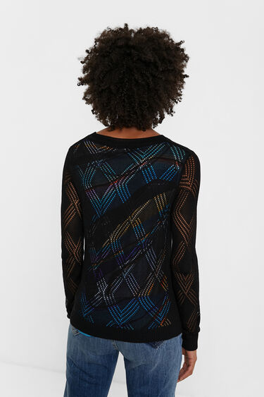 Tricot arty tricot jumper | Desigual