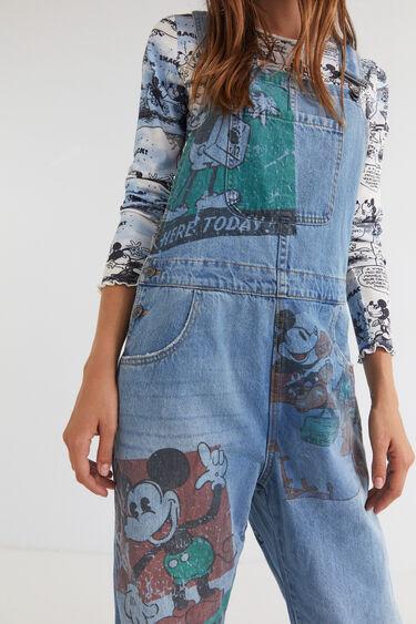 Salopette en jean Mickey Mouse | Desigual