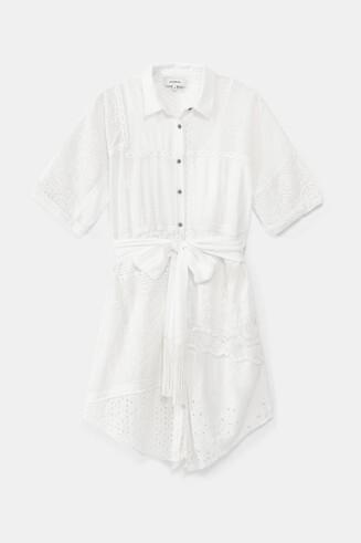 Robe chemise style Ibiza