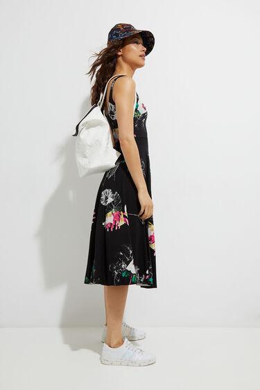 Trägerkleid Blumen | Desigual