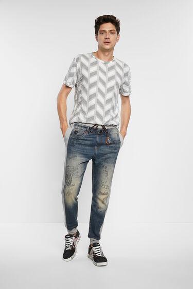 Camiseta jacquard espiga | Desigual