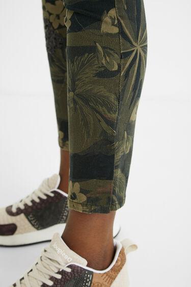 Skinny cargo trousers | Desigual