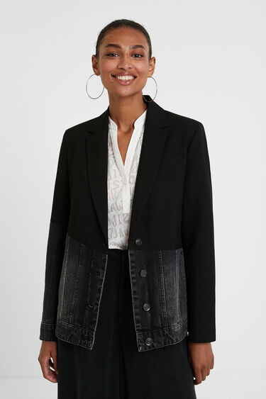 Hybrid denim blazer | Desigual