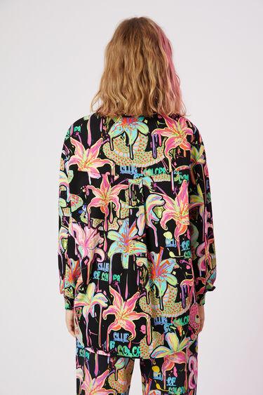 Oversized blouse met print | Desigual