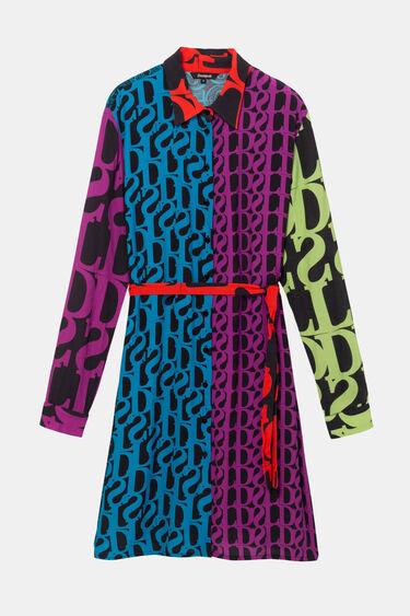 Logomania shirt dress Designed by M. Christian Lacroix | Desigual