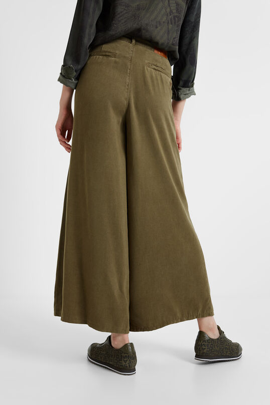 Pantalons palazzo ètnics | Desigual