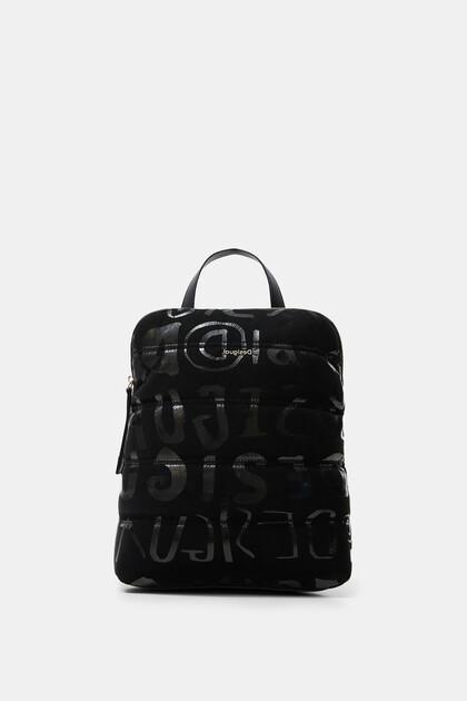 Square logo backpack