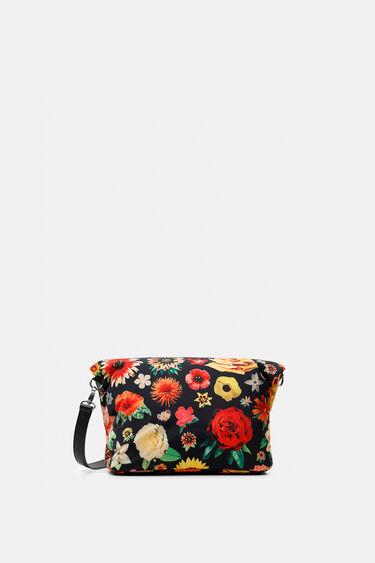 Square nylon floral bag | Desigual