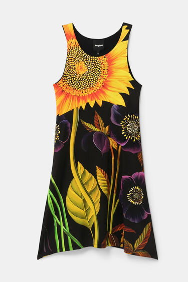 Sleeveless dress pleasant touch   Desigual