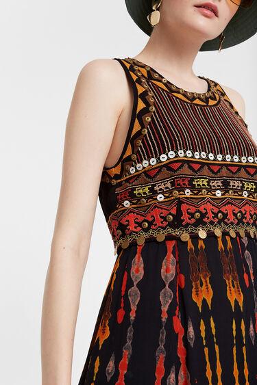 African style midi dress | Desigual