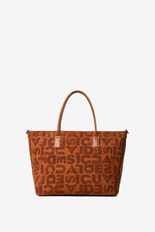 Shopping bag tracolla logomanía | Desigual