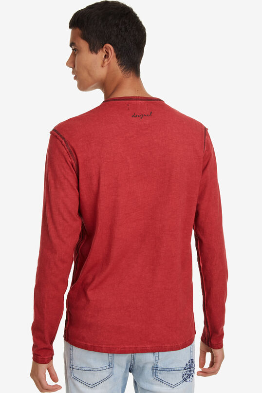 T-shirt rouge Emilio | Desigual