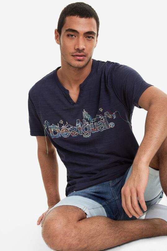 Buttoned Mandarin Collar Shirt Pablo | Desigual