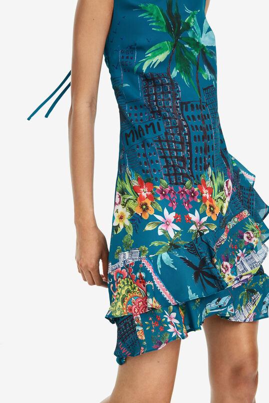 Flared Tropical Dress Harringtown | Desigual