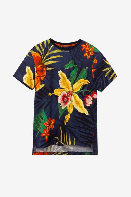 Blue Floral T-shirt Juan | Desigual