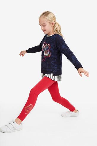 Leggings minibeads colors