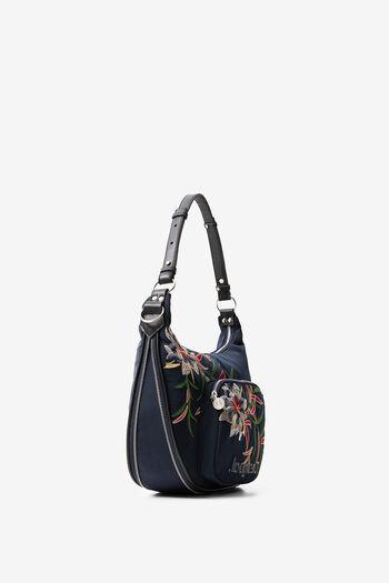 Multicolour floral print bag | Desigual