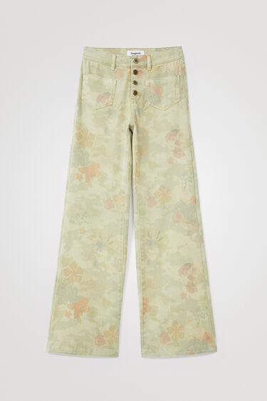 Pantalon wide leg slim | Desigual