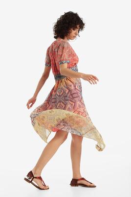V-neck midi dress Nana