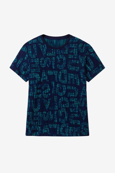 T-shirt slim logomaniaque | Desigual